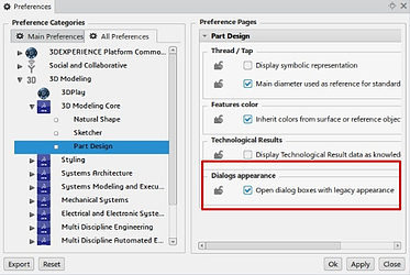 Tools-Preferences