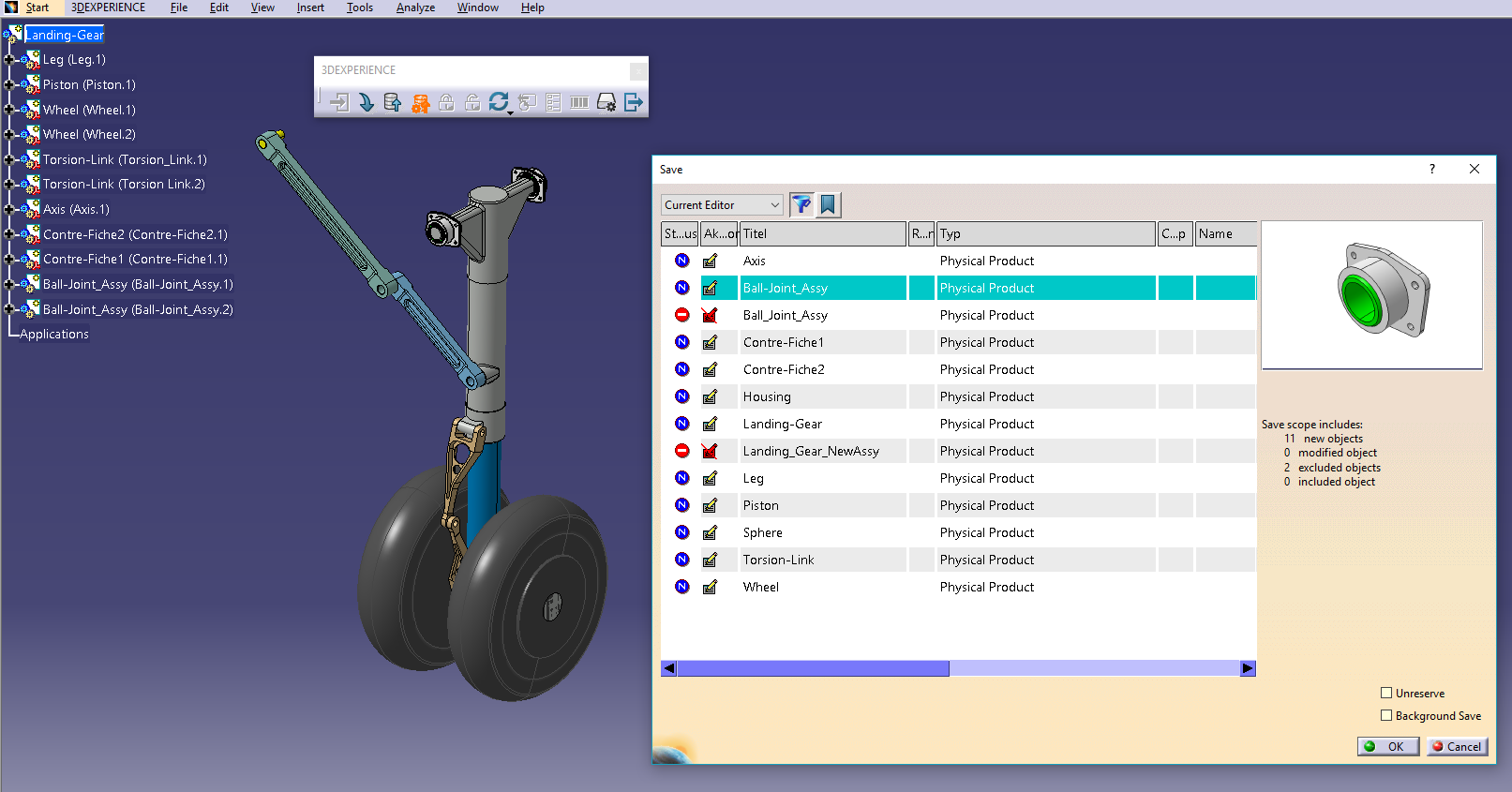 Power'By: Die 3DEXPERIENCE PLM Collaboration mit CATIA V5